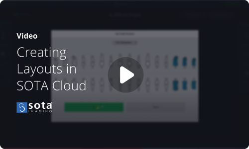 Creating and customizing layouts in SOTA Cloud dental imaging software video